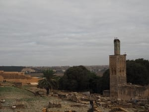 Marokko Chellah Ruinen
