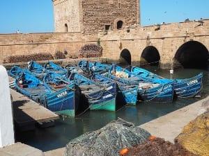 Marokko Essaouira Hafen
