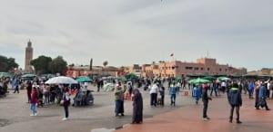 Marokko Gauklerplatz