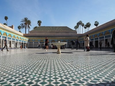 Marokko Marrakesch Bahia-Palast