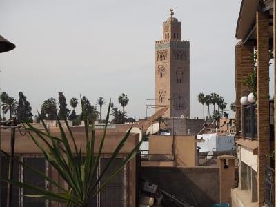 Marokko Marrakesch Koutoubia-Moschee