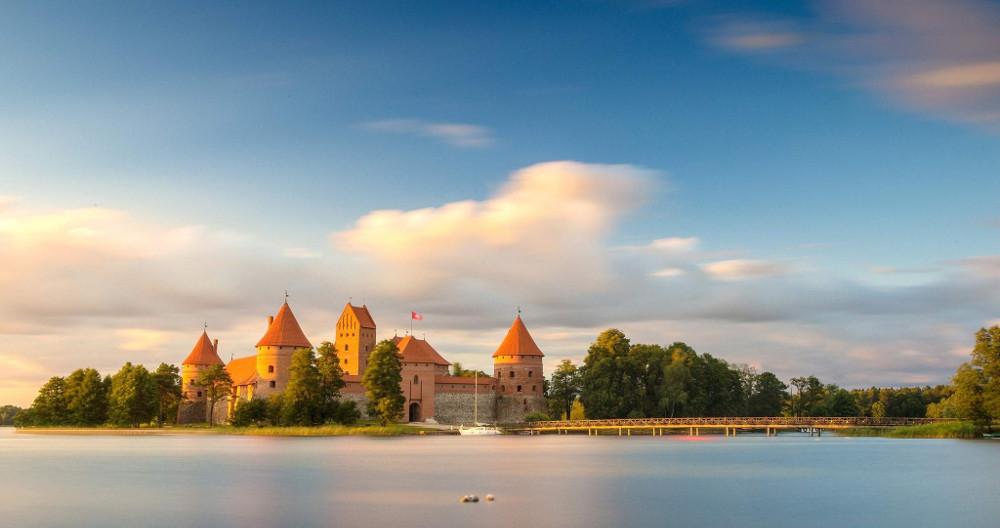 Gruppenreise Baltikum - Wasserburg Trakai
