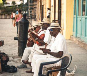 Straßenmusik auf Kuba