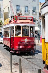 Portugal Lissabon Straßenbahn
