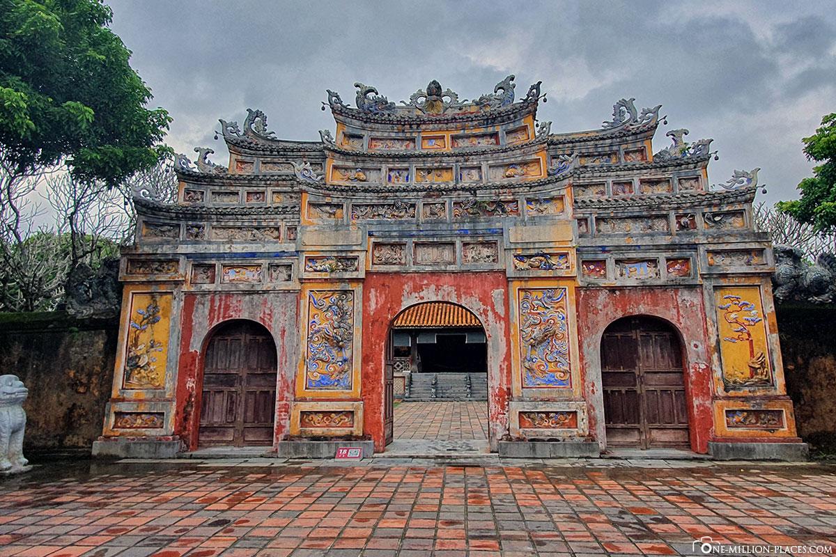 Reisebericht Vietnam Hue Nguyen-Dynastie