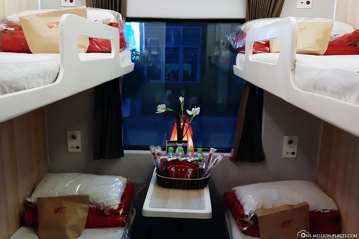 Reisebericht Vietnam Nachtzug Hanoi Hue