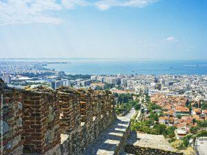 Stadtmauer Thessaloniki, Griechenland