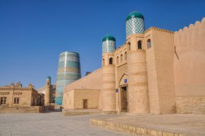 Stadtbefestigung Itchan-Kalas, Chiwa, Usbekistan