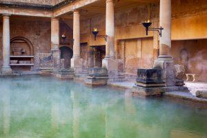 Römisches Bad in Bath, Großbritannien