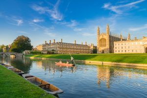 Universität zu Cambridge in Großbritannien