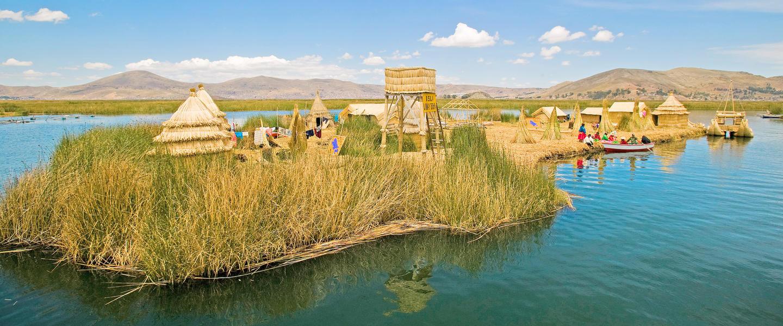 Gruppenreise Peru - Schwimmende Dörfer Titicacasee