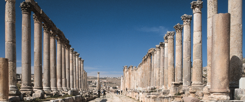 Gruppenreise Jordanien: Jerash