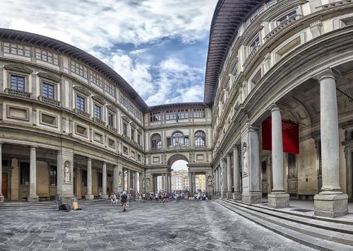 Gruppenreise Italien - Florenz - Uffizien