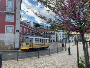 Gebeco-Lissabon-Straßenbahn