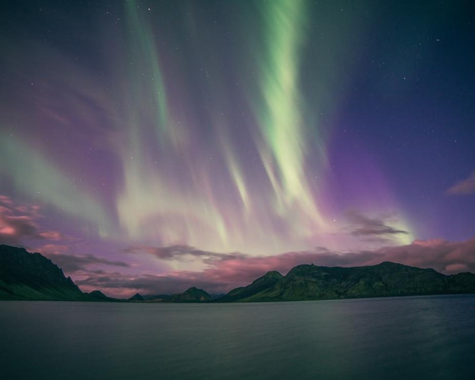 Faszination Polarlichter in Island