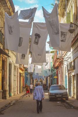Street Art in der Altstadt in Havanna