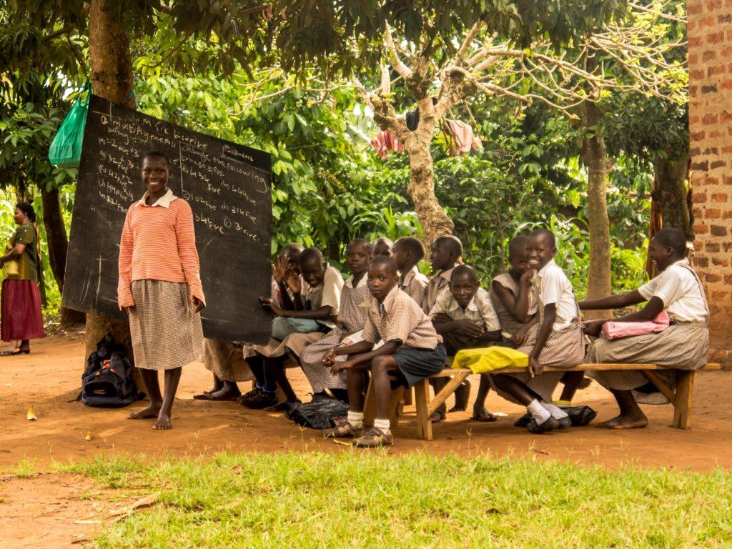 Schulprojekt in Uganda