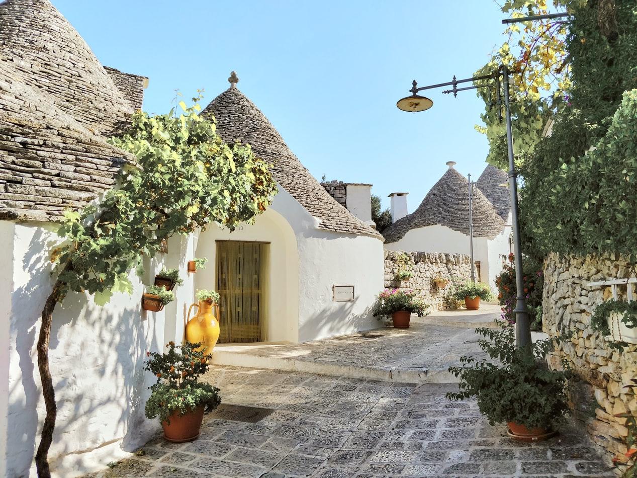 Die Trulli in Apulien